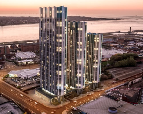 HE Simm wins MEP package for Liverpool resi tower
